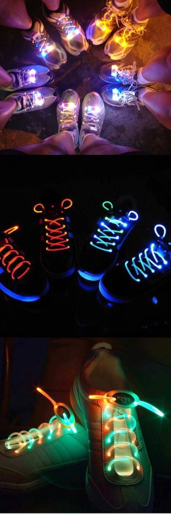 I LOVE this idea for the Glow Run!