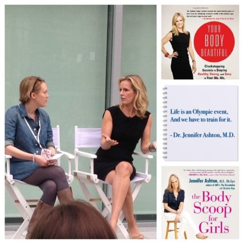 "Lisa Haney & Dr. Jennifer Ashton, speaking about being ""Healthy, Strong and Sexy in Your 20s, 30s and Beyond"""