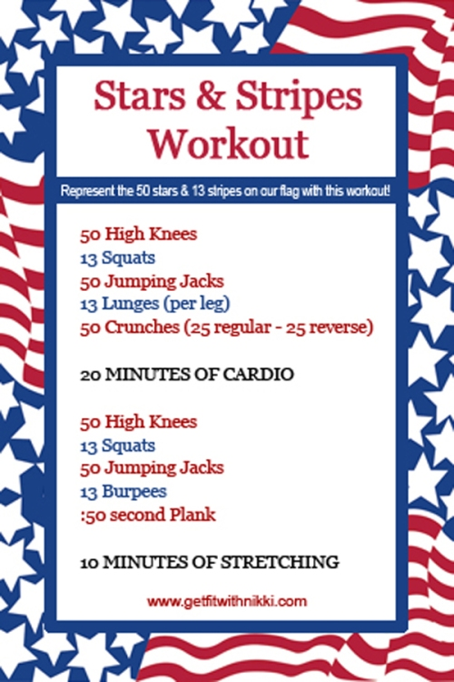Stars and Stripes Workout