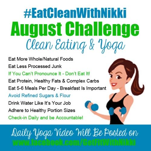 #EatCleanWithNikki