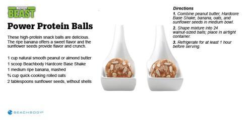 Body Beast Power Protein Balls