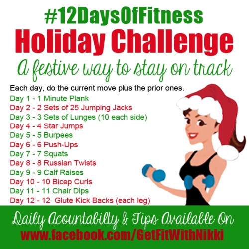 #12DaysofFitness