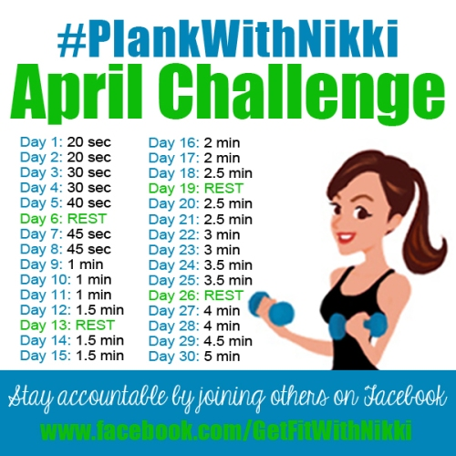 #PlankWithNikki Challenge
