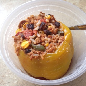 Southwest-Style Stuffed Pepper