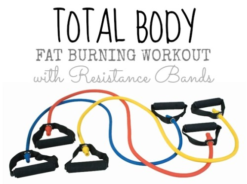 Total Body Fat Burning workout with resistance bands