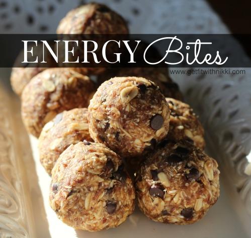 Energy Bites Square