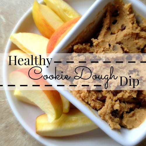 Healthy Cookie Dough Dip a