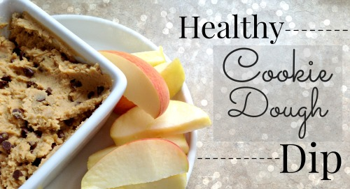 Healthy Cookie Dough Dip Banner