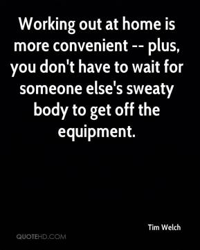 sweat equipment