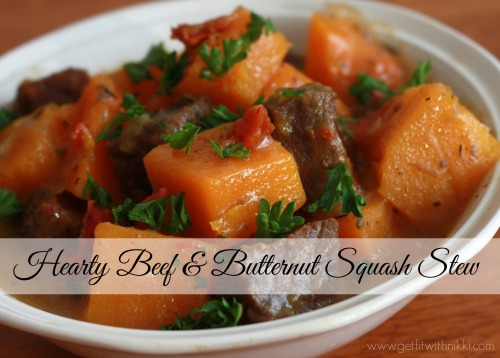 Hearty Beef and Butternut Squash Stew