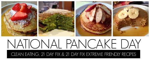 National Pancake Day Banner