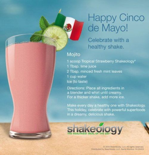 Cinco De Mayo Shakeology
