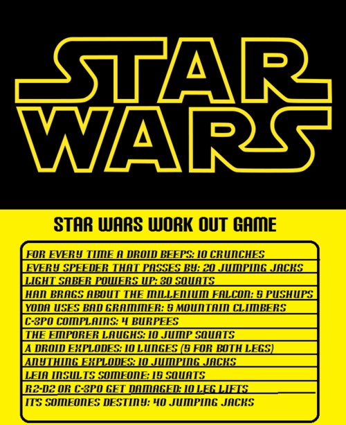 Star Wars Workout 3
